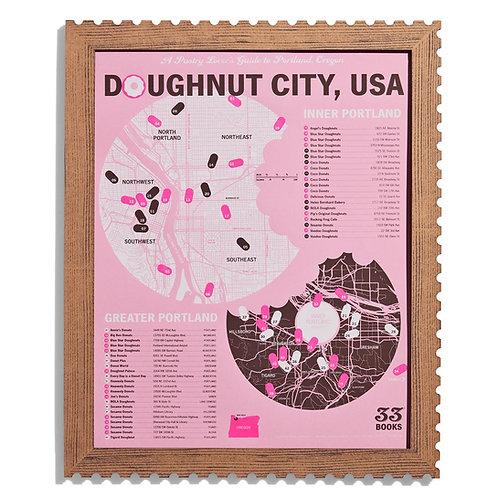 Doughnut City USA: Portland Doughnut Tasting Map