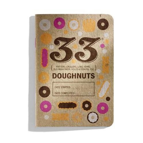 33 Doughnuts Tasting Journal