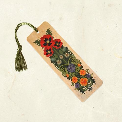 Poppy & Spider Bookmark