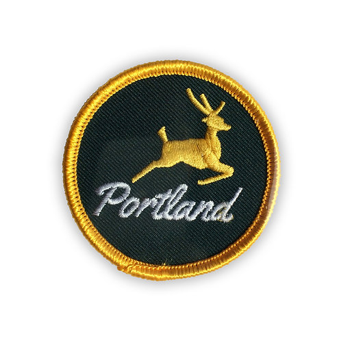 Portland Stag Patch