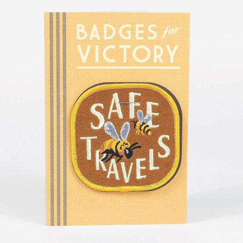 """""""Safe Travels"""" Badge"""