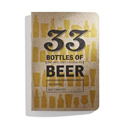33 Bottles of Beer Tasting Journal
