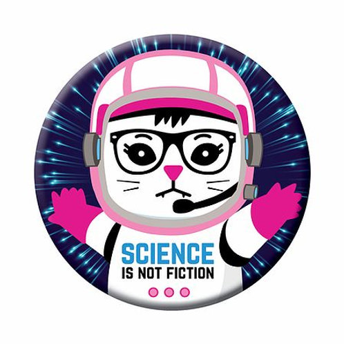 Science is Not Fiction Magnet