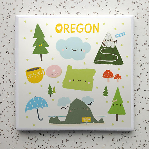 Happy Oregon Coaster