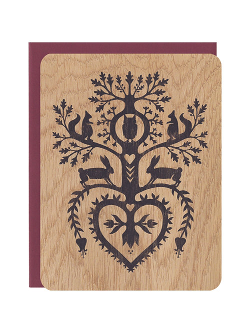 Owl Hollow Wood Card
