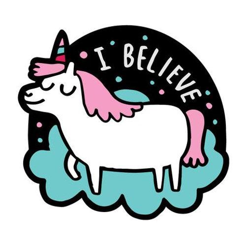 I Believe Unicorn Sticker