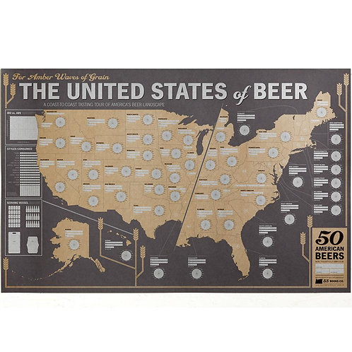 The United States of Beer: Beer Tasting Map