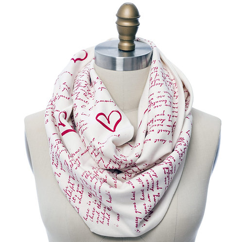 I Carry Your Heart Book Scarf