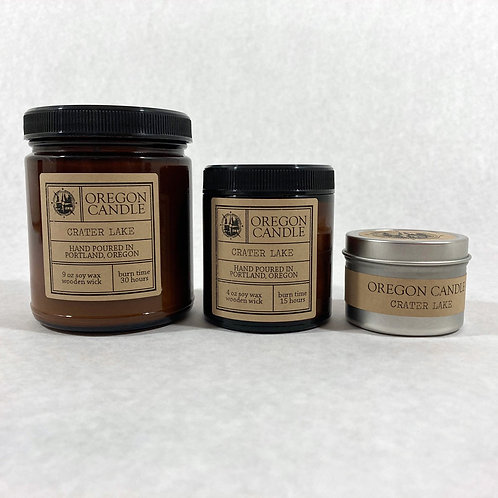 Crater Lake 9oz Soy Candle