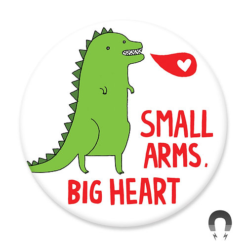 Small Arms Big Heart Magnet