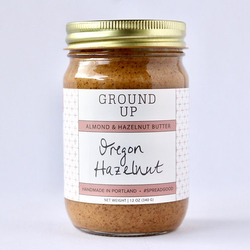 Oregon Hazelnut Almond Butter