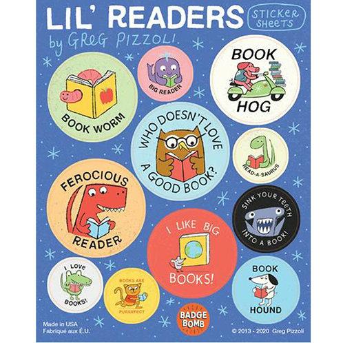 Li'l Readers Sticker Sheets