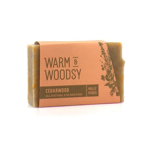 Warm & Woodsy (Cedarwood) Bar Soap