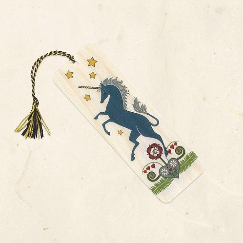Rampant Unicorn Bookmark