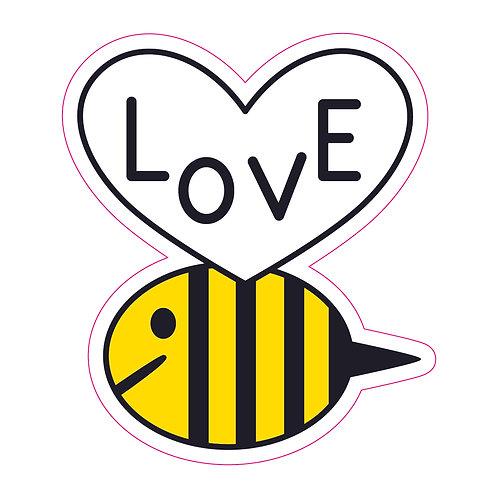 Bee Love Sticker