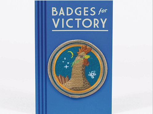 Brown Hen Badge