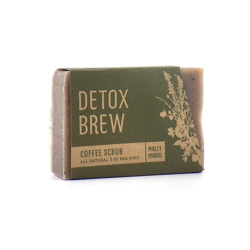 Detox Brew (Coffee Scrub) Bar Soap