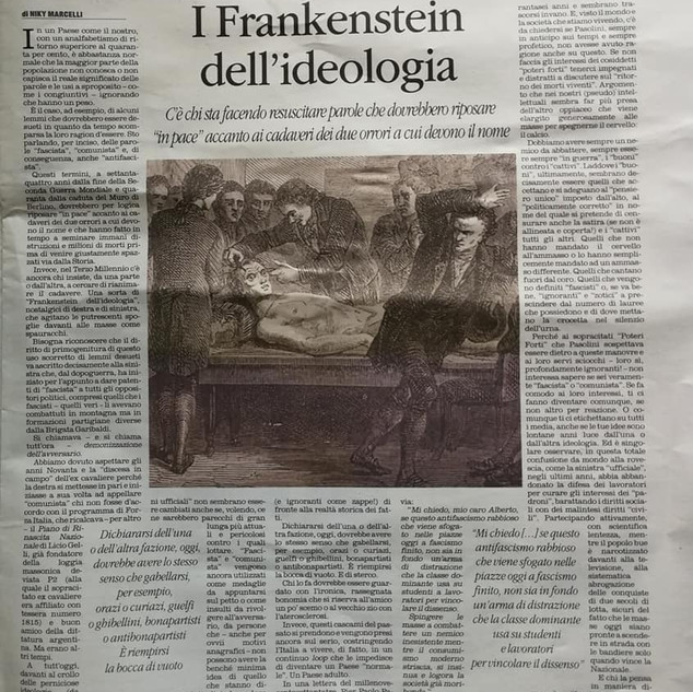 Il Quotidiano del Sud - Frankenstein 29