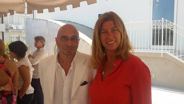 Con Roberta Beta, amica fantastica-