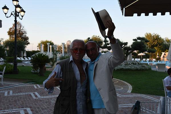 Con il grande Arnaldo Magnani