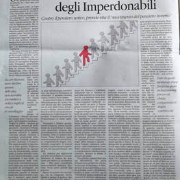 MANIFESTO IMPERDONABILI - IL QUOTIDIANO