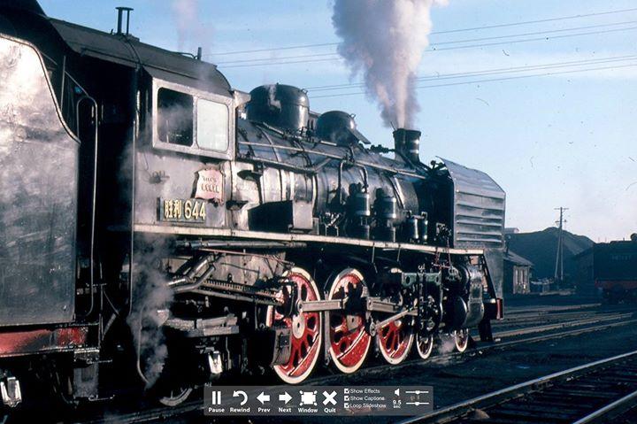 Steam locomotive boilers.