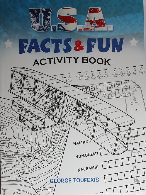 USA Facts and Fun Activity Book