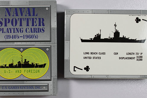 Naval Spotters 1940s-1960s playing card deck