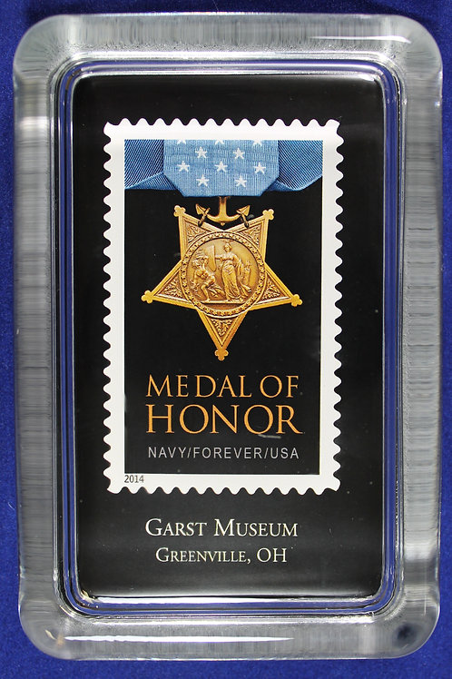 Medal of Honor paperweight