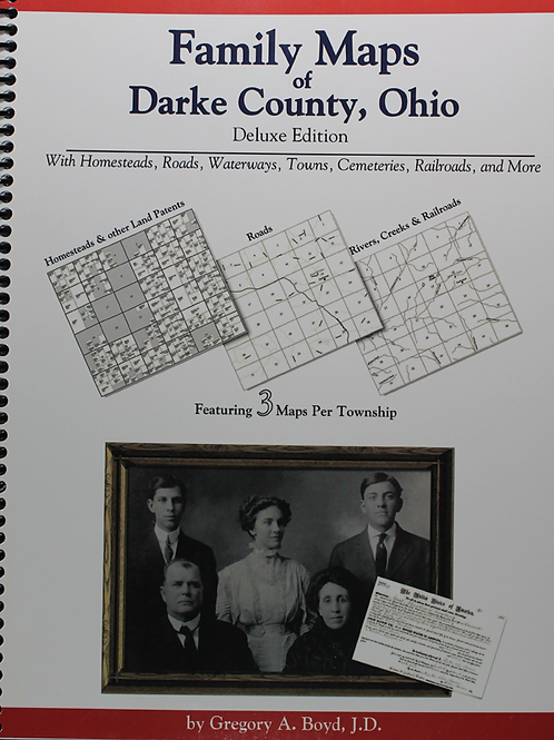 Family Maps of Darke County Ohio
