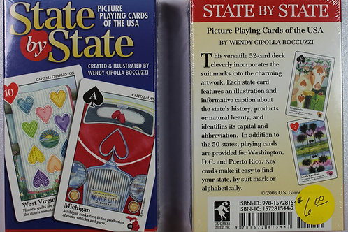 State by State playing card deck