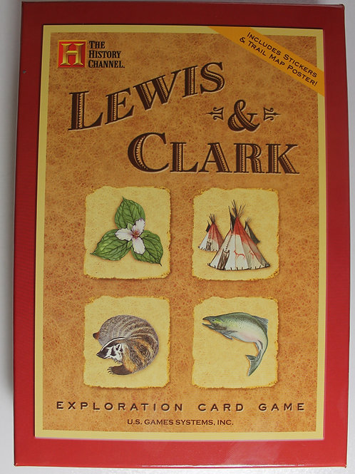 Lewis & Clark Exploration card deck