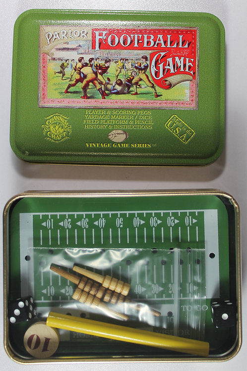 Game of football tin