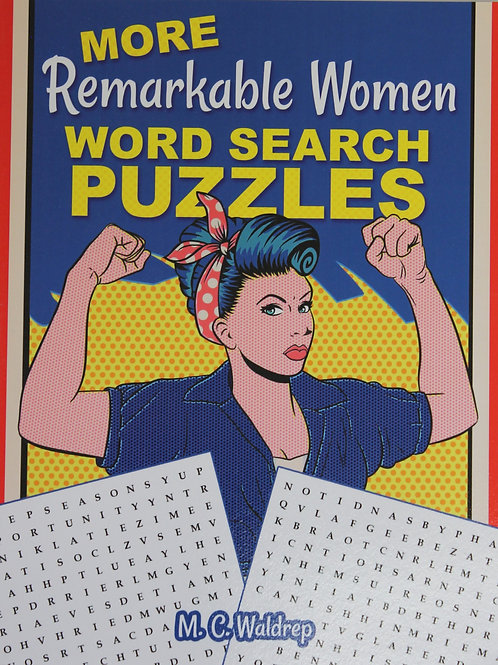 More Remarkable Women Word Searches