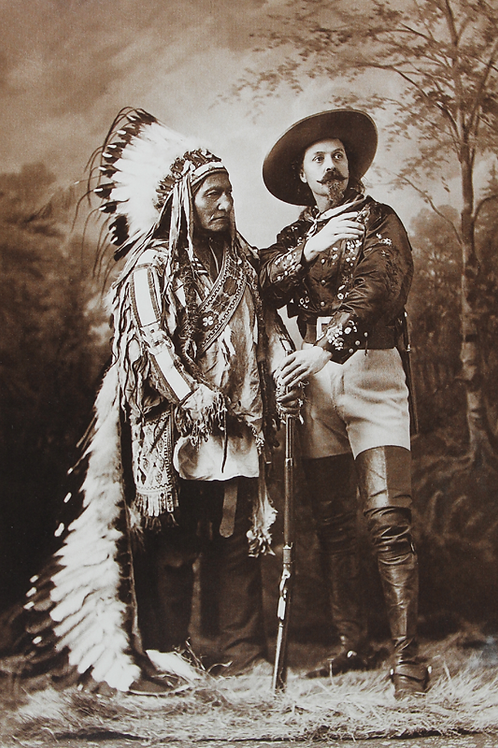 "Sitting Bull and William ""Buffalo Bill"" F. Cody"