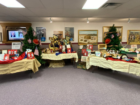 Garst Museum Creates Holiday Pop-Up Shop