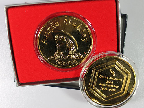 Annie Oakley Bronze Coin