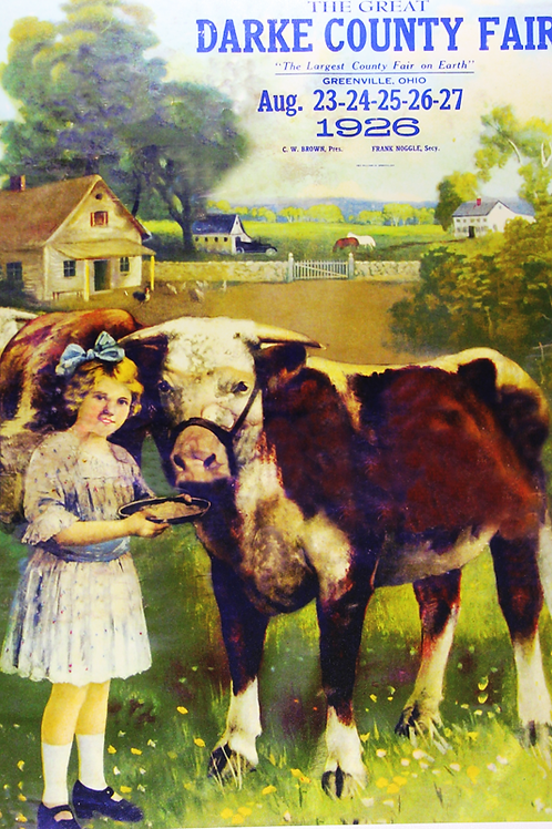 Girl with Cattle, 1926