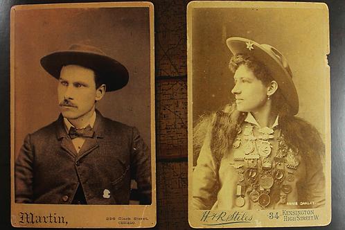Annie Oakley & Frank Butler