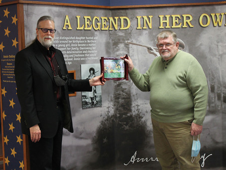 Garst Museum's 2021 Heritage Award Honors Allen Hauberg
