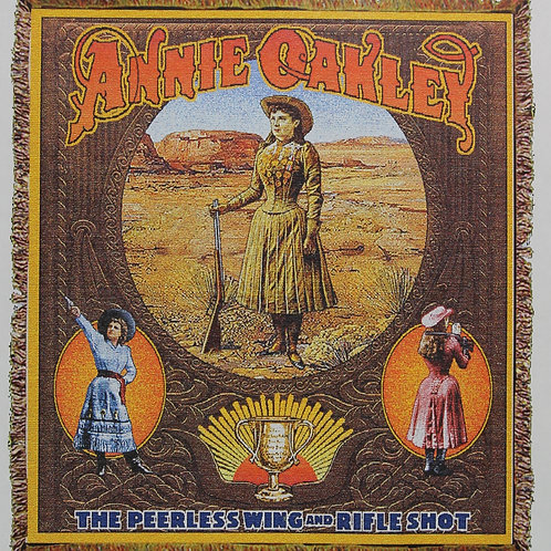 Annie Oakley throw