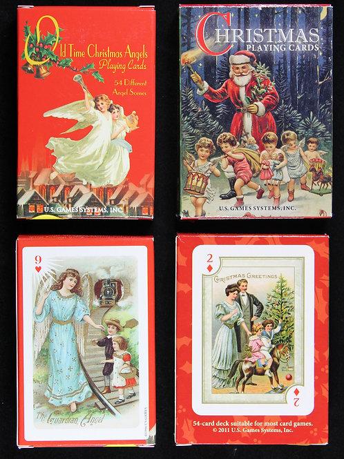 Two Christmas Themed Card Decks