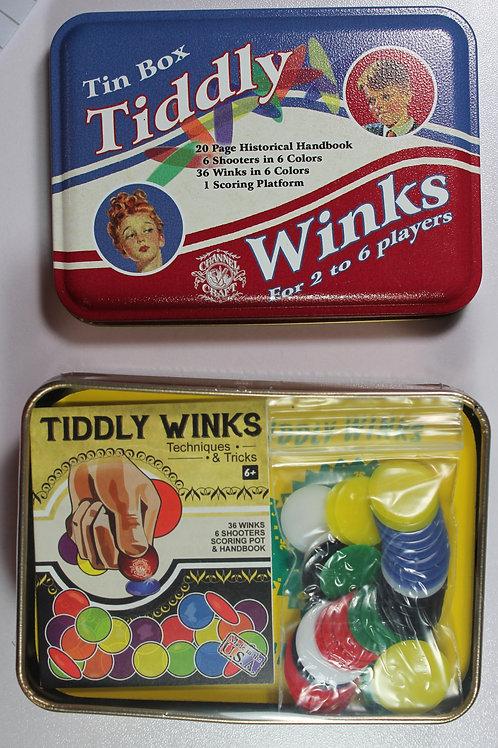 Tiddly Winks Tin