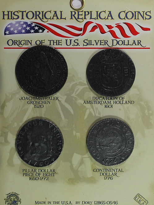 Origin of the Silver Dollar Coin
