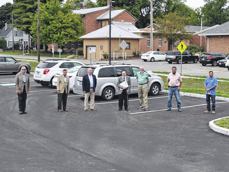 Garst Museum's New Parking Lot is Open!