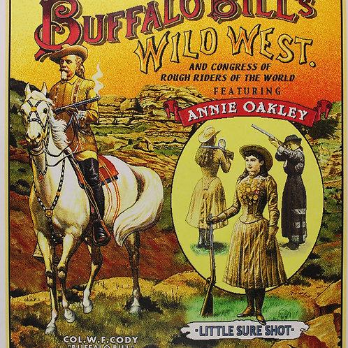 Buffalo Bill and Annie Oakley throw