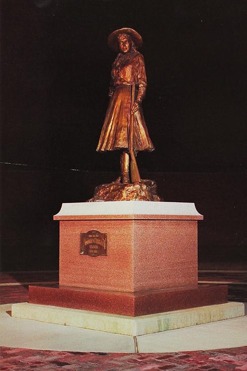 Night Photo of AO Statue