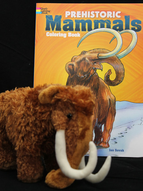 Marley Mammoth and Prehistoric Mammals Coloring Book