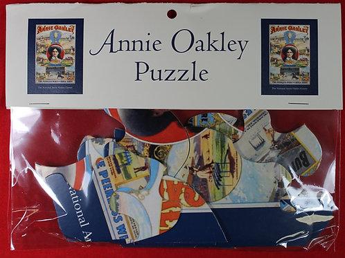 Annie Oakley large piece jigsaw puzzle
