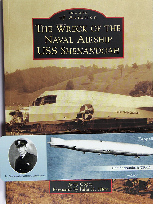 The Wreck of the Naval Airship USS Shenandoah and Zachary Lansdowne bookmark